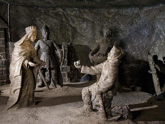 Statue di sale